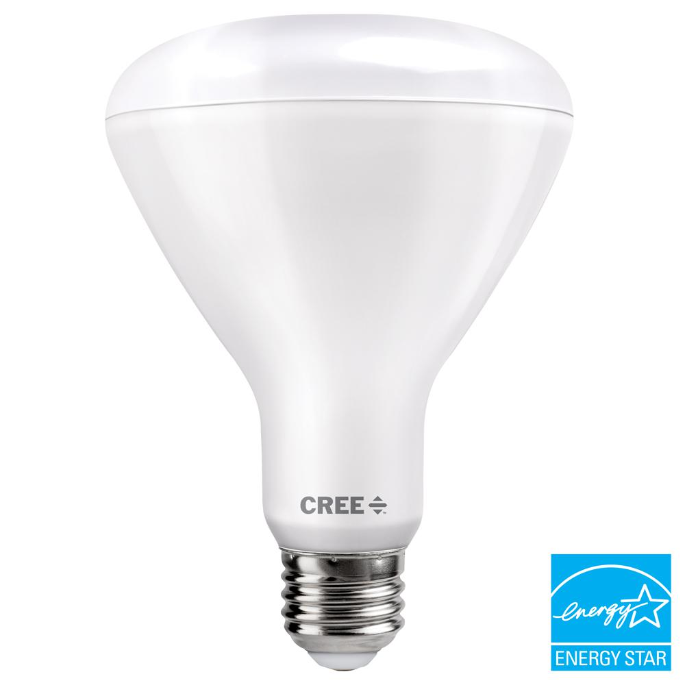 100W Equivalent Bright White (3000K) BR30 Dimmable Exceptional Light Quality LED