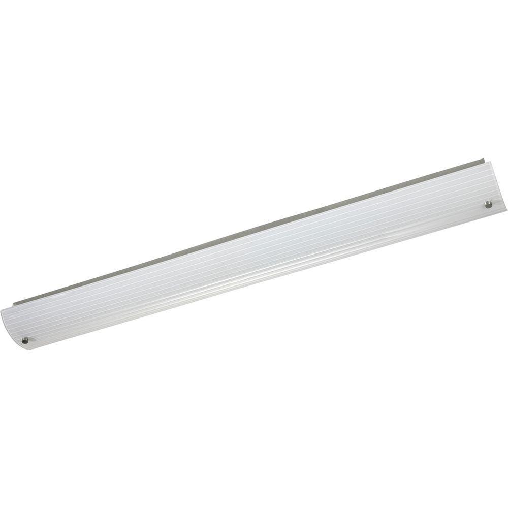 2-Light Brushed Nickel Fluorescent Bath Light