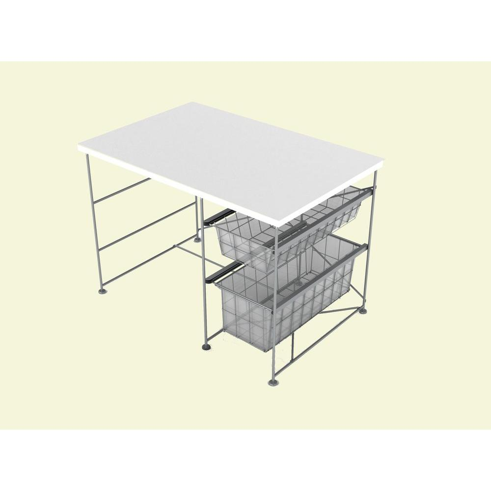 Atlantic Youth Activity White Desk-DISCONTINUED