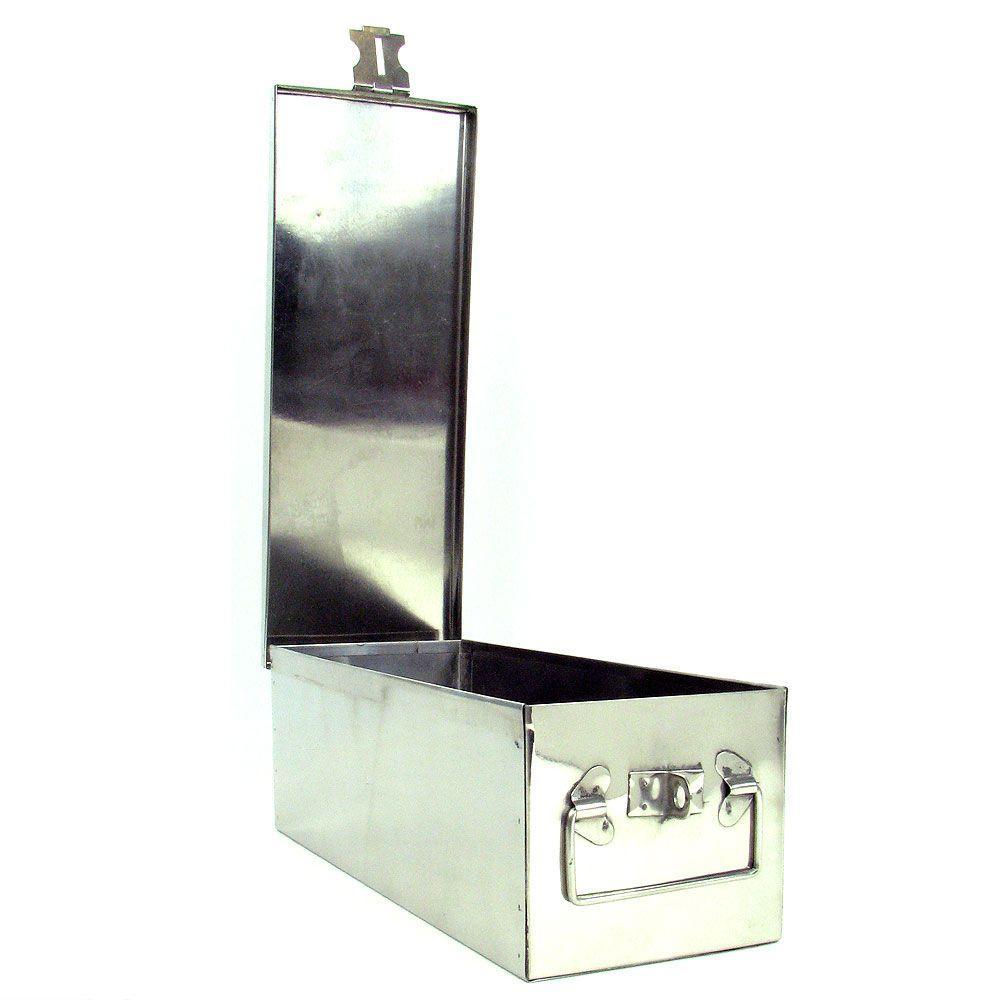 1 Gal. Storage Box in Metallic
