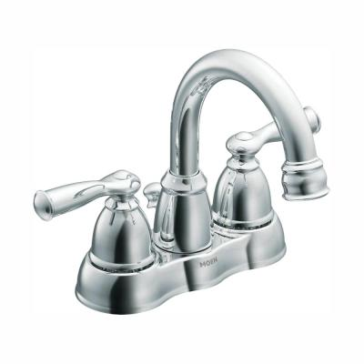 Banbury 4 in. Centerset 2-Handle High-Arc Bathroom Faucet in Chrome