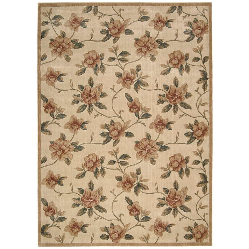 Nourison Cambridge Ivory 7 ft. 9 in. x 10 ft. 10 in. Area Rug