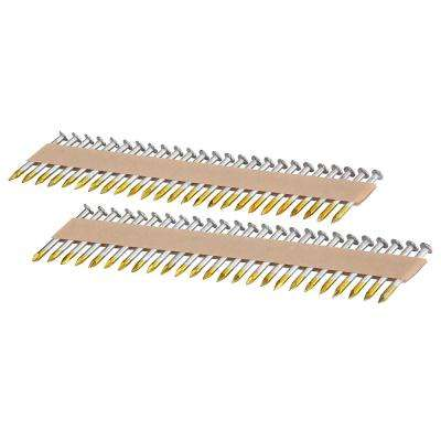 1-1/2 in. x 0.131 in. Dia Brite Finish Paper Collated Metal Connector Nails (1,000-Nails)