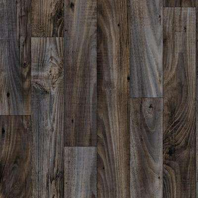 Smokehouse Oak Grey 13.2 ft. Wide x Your Choice Length Residential Vinyl Sheet Flooring