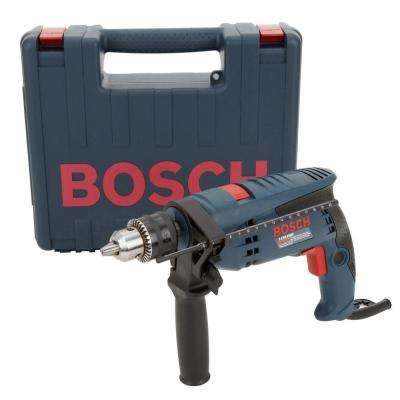 7 Amp Corded 1/2 in. Concrete/Masonry Variable Speed Hammer Drill Kit with Hard Case