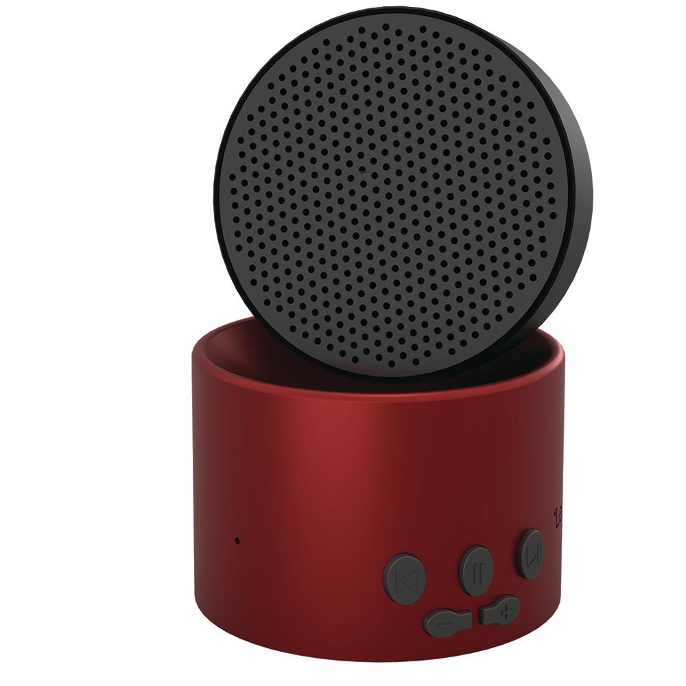 Adaptive Sound Technologies Micro2 Sleep Sound Machine and Bluetooth Speaker in Red