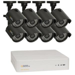 Q-SEE 8-Channel 1080p 1TB Video Surveillance System with 4