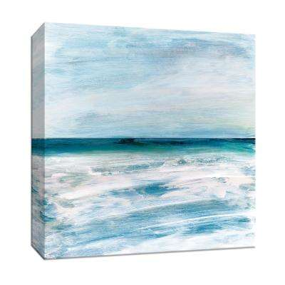 15 in. x 15 in. ''Azzurra'' By PTM Images Canvas Wall Art