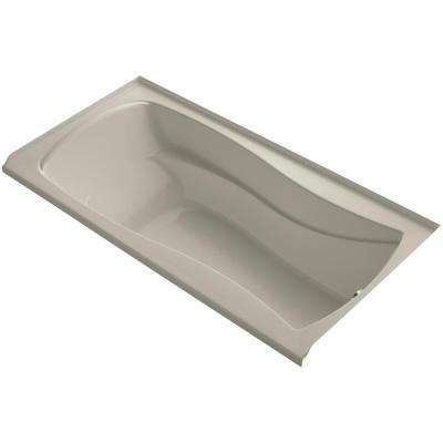 Mariposa 6 ft. Right Drain Soaking Tub in Sandbar with Bask Heated Surface