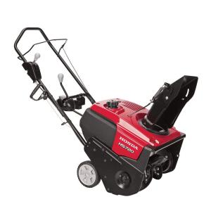 Honda HS720AS 20 inch Single-Stage Electric Start Gas Snow Blower by Honda