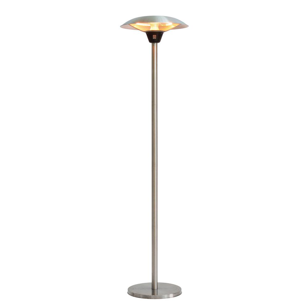 Fire Sense Frisco 1 500 Watt Stainless Steel Halogen Patio Heater