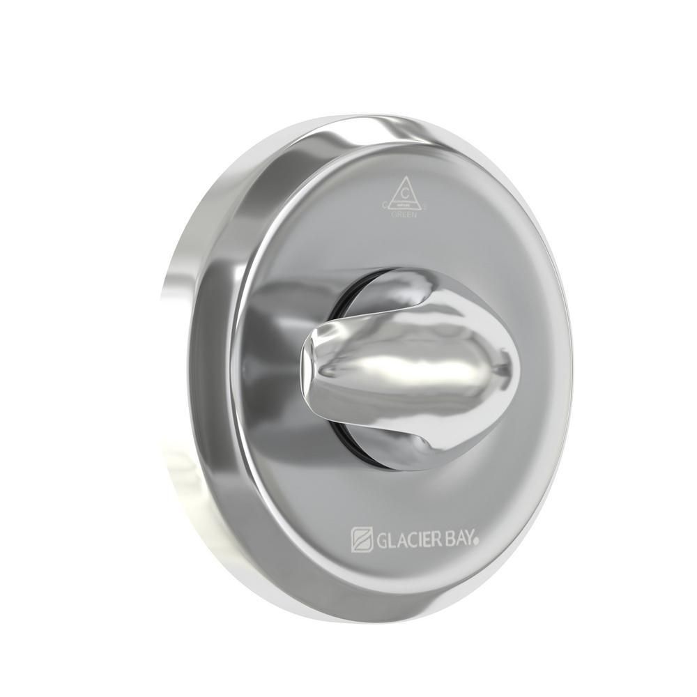 Aragon 2-Handle 1-Spray Shower Set in Chrome by Glacier Bay