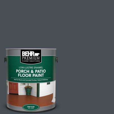 1 gal. #PPU25-22 Chimney Low-Lustre Enamel Interior/Exterior Porch and Patio Floor Paint