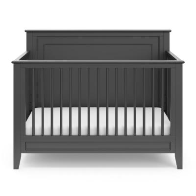 Solstice Gray 4 in-1-Convertible Crib