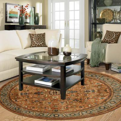 Mariah Spice 8 ft. x 8 ft. Round Area Rug