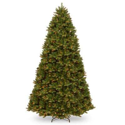 10 ft. Feel Real Newberry Spruce Hinged Tree with 1500 Clear Lights