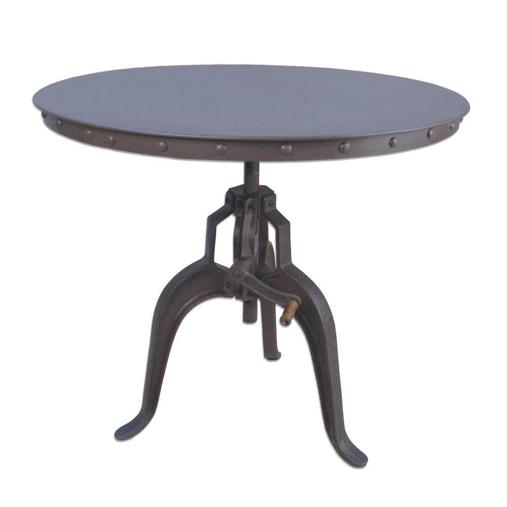 Ordinaire Mundra Industrial Adjustable Crank Table