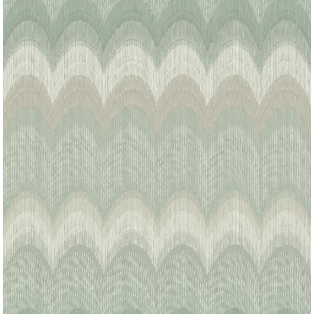 August Sage Wave Wallpaper Sample