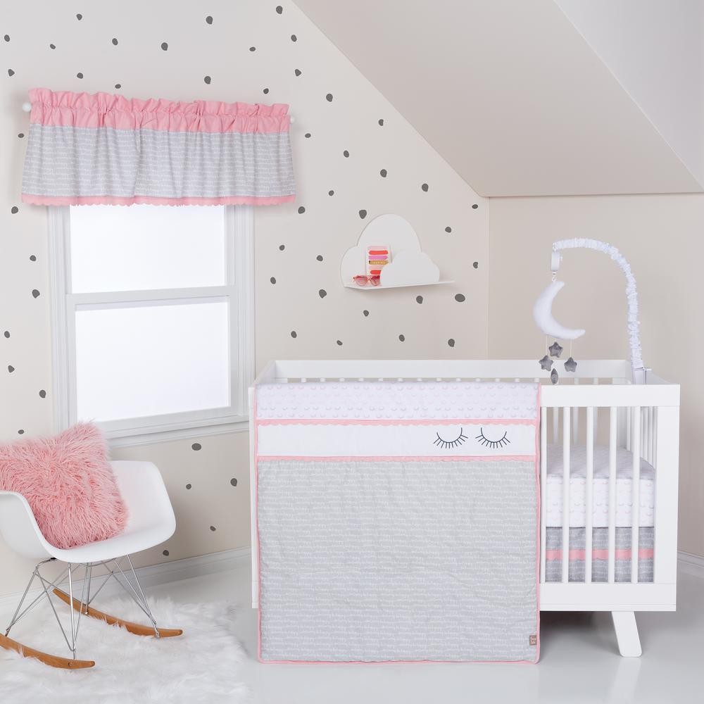 Be Happy 3-Piece Crib Bedding Set