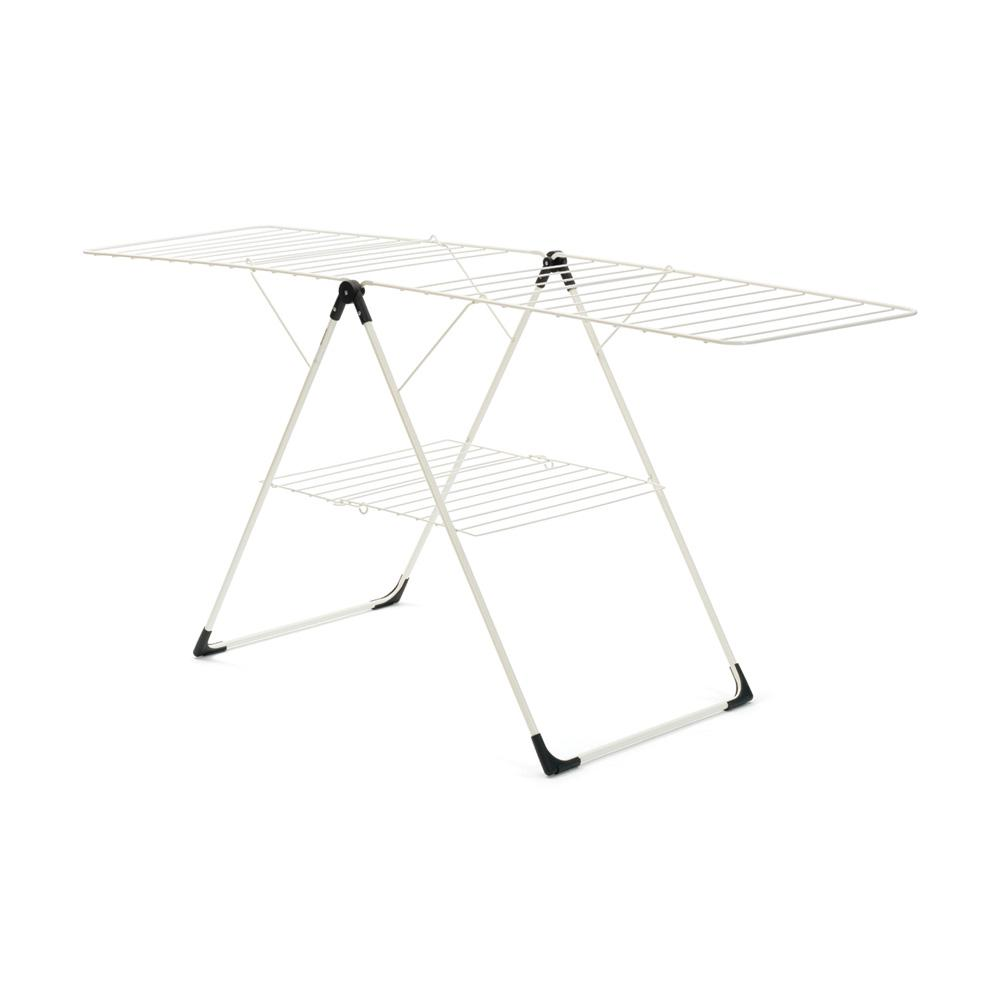 66 ft. (20 m) Indoor White T-Model Drying Rack