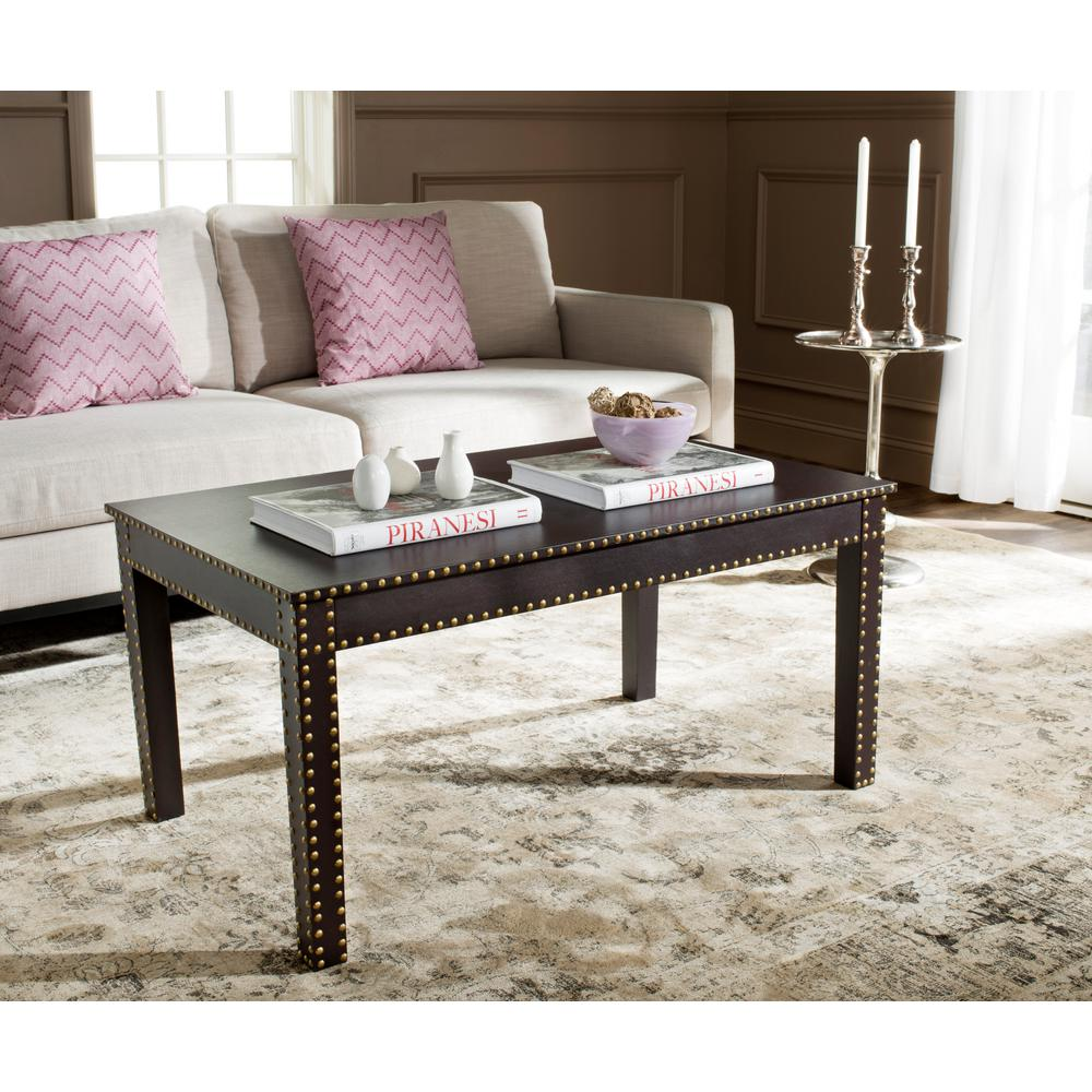 Crispis Dark Brown Coffee Table