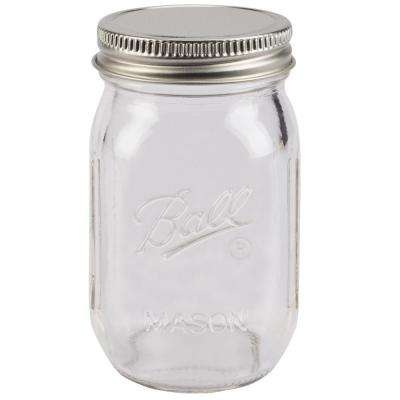 4 Oz. Glass Mini Canning and Preserving Jar (4-Pack)