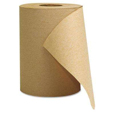 Kraft 8 in. x 350 ft. Hardwound Roll Towels