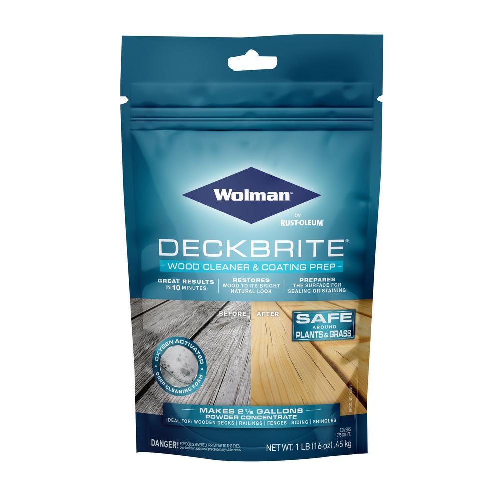 1 lb. DeckBrite Wood Cleaner and Coating Prep (6-Pack)
