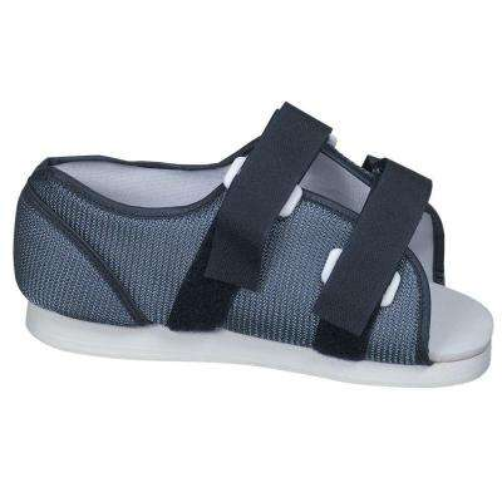 Blue Mesh Post-Op Shoe for Women's