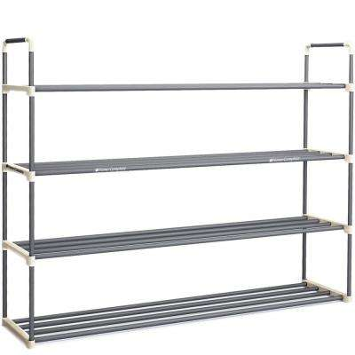 24-Pair 4-Tier Shoe Rack