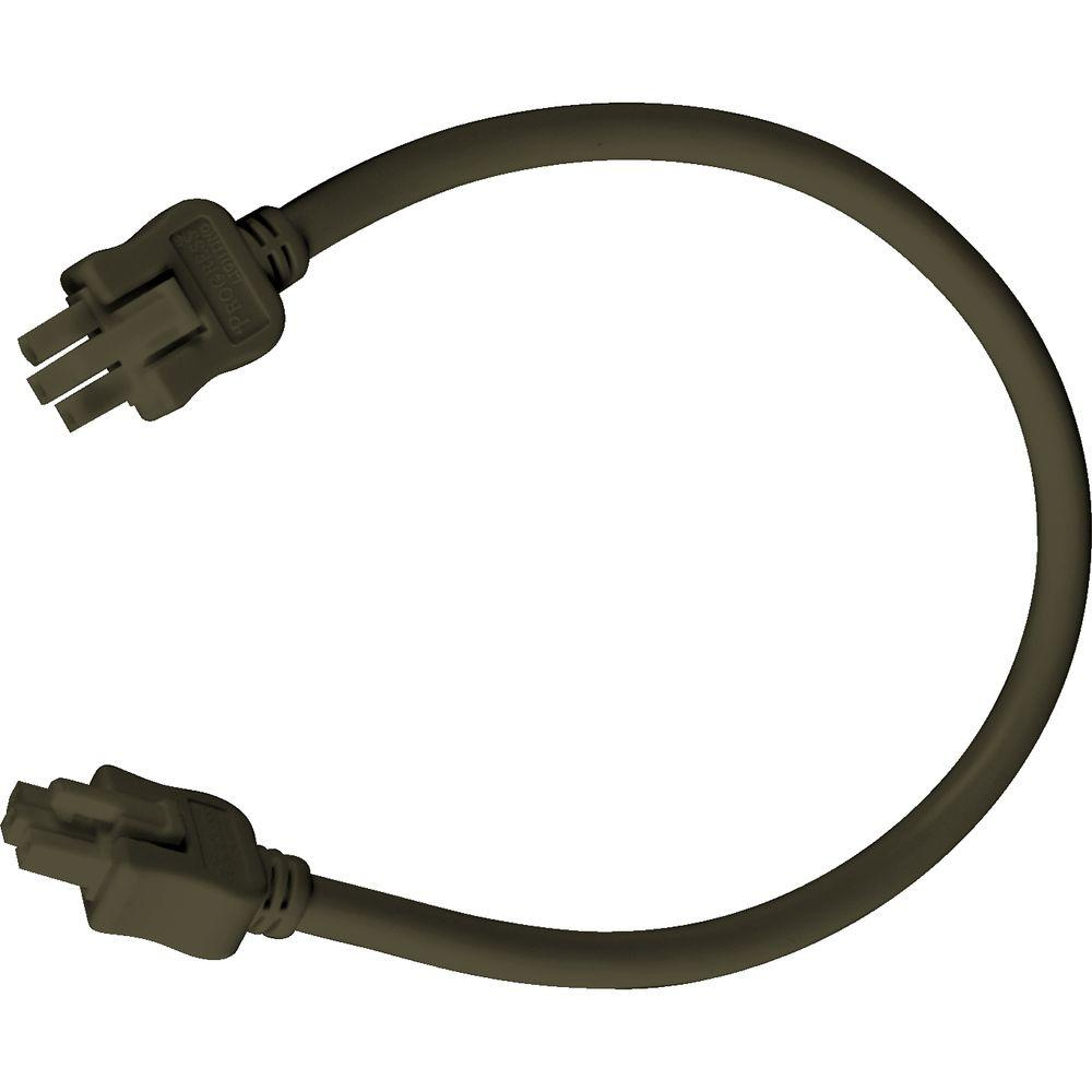 Progress Lighting Hide-a-Lite III Collection Antique Bronze 12 in. Linking Cable