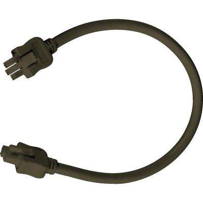 Hide-a-Lite III Collection Antique Bronze 12 in. Linking Cable