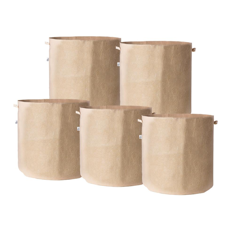 19 in. x 19 in. 25 Gal. Breathable Fabric Pot Bags
