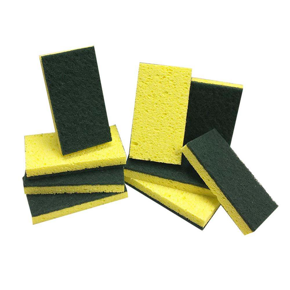 HDX HDX Heavy-Duty Scrub Sponges (9-Count), Yellow and Green