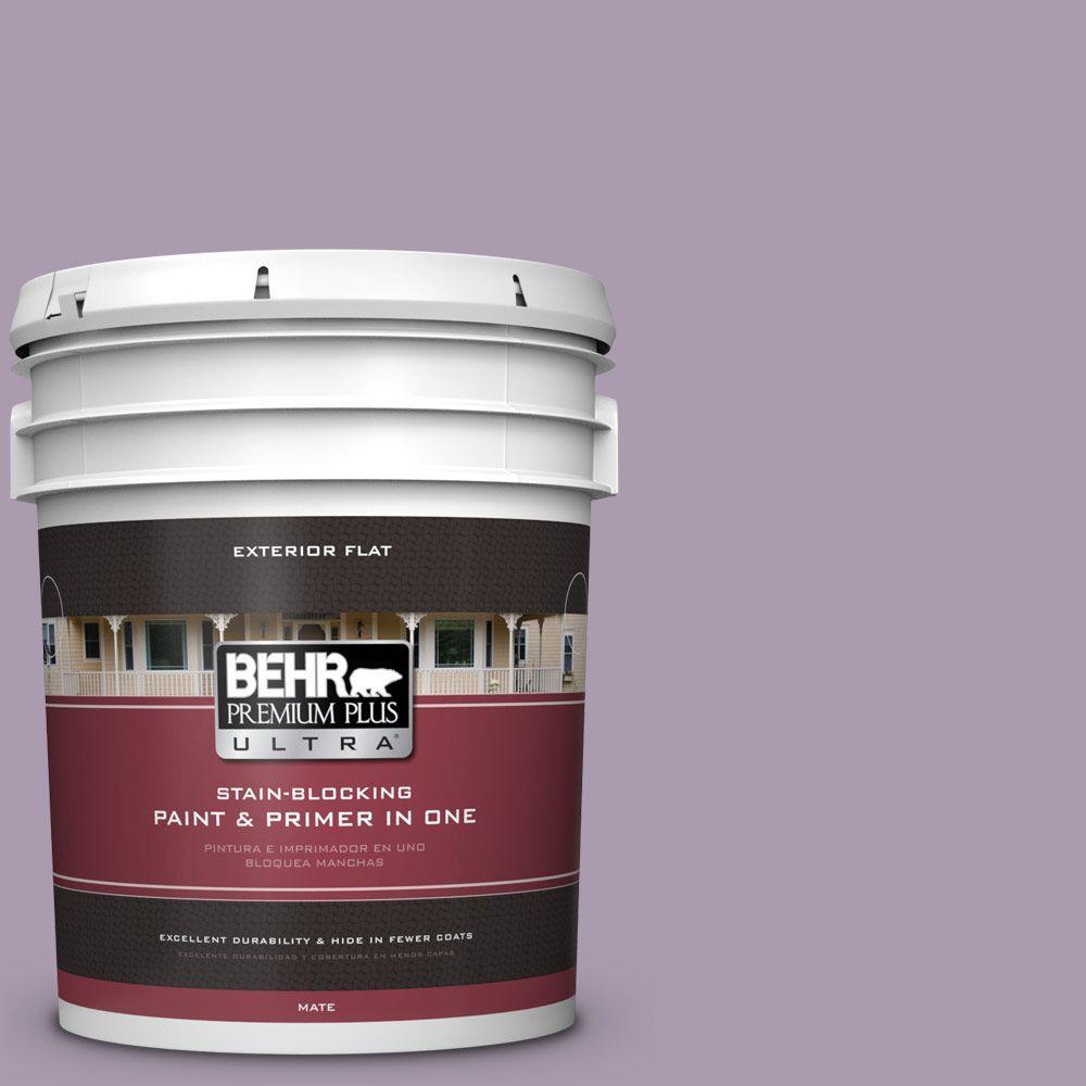 BEHR Premium Plus Ultra 5-gal. #PPU16-12 Charm Flat Exterior Paint