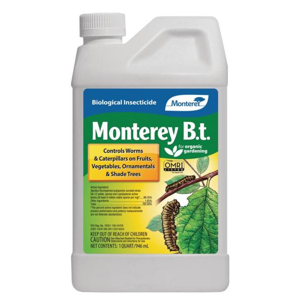 Monterey B. T. Caterpillar Killer