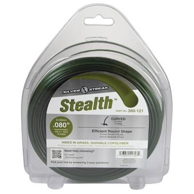 New Stealth Trimmer Line for Approximate Length 05 ft., Color Green, Diameter 0.080 in., Size 1 lb.