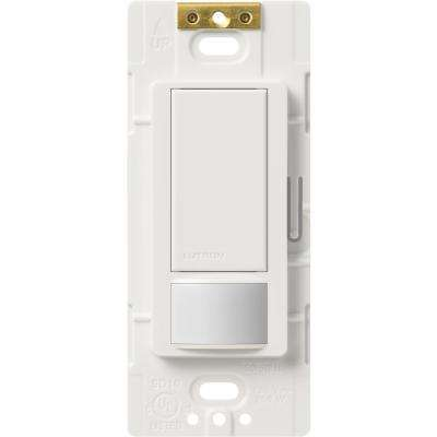 Maestro Vacancy Sensor switch, 2-Amp, Single-Pole, White