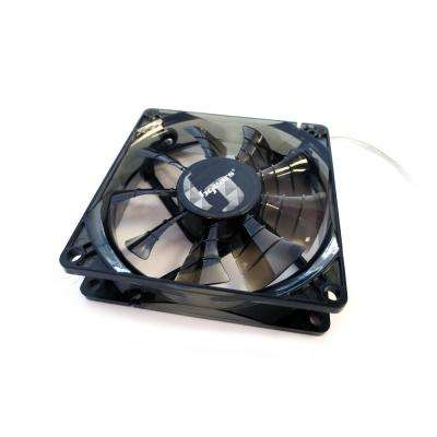 b-PWM 80 mm 2 Ball Bearing PWM 12-Volt DC Fan, Black