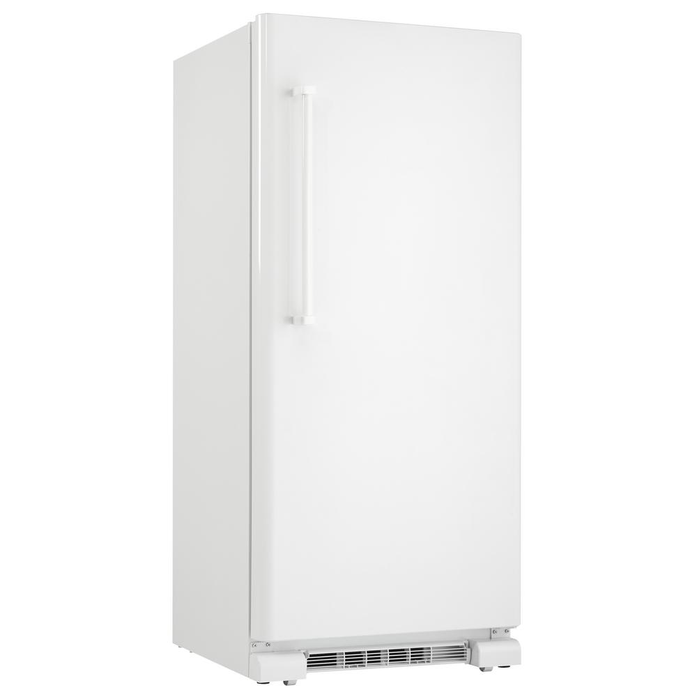 30 in  w 17 0 cu  ft  freezerless refrigerator in white, counter depth