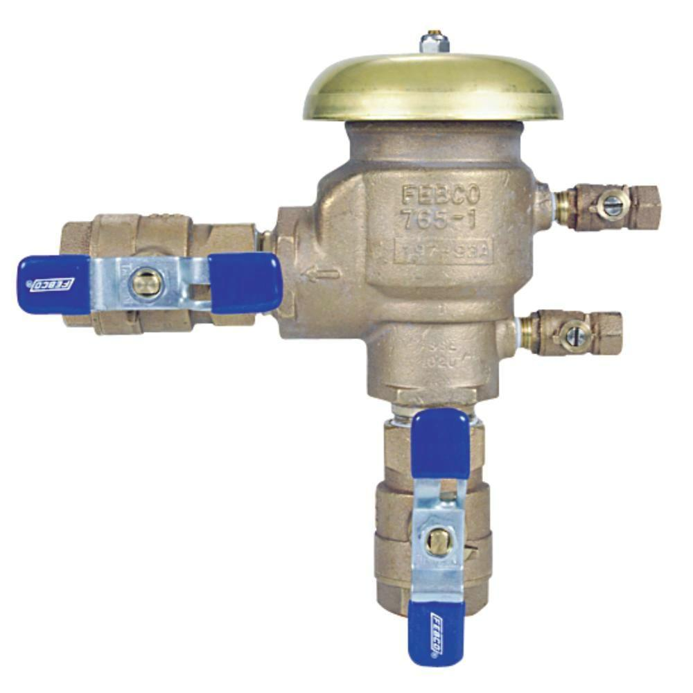 Series 765 3/4 in. Bronze NPT Pressure Vacuum Breaker