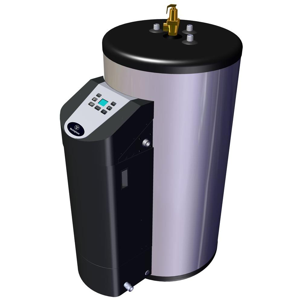 Westinghouse 80 Gal. Ultra-High Efficiency/High Output 10 Year 76,000 BTU LP Water Heater with Durable 316L Stainless Steel Tank