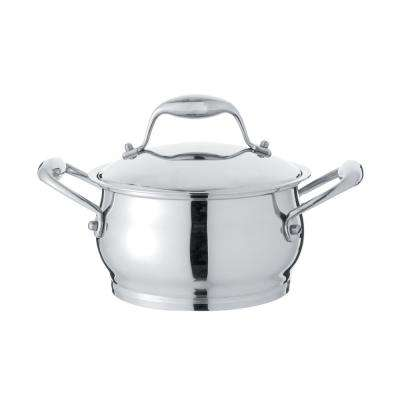 Essentials 2.9 Qt. Stainless Steel Covered Casserole