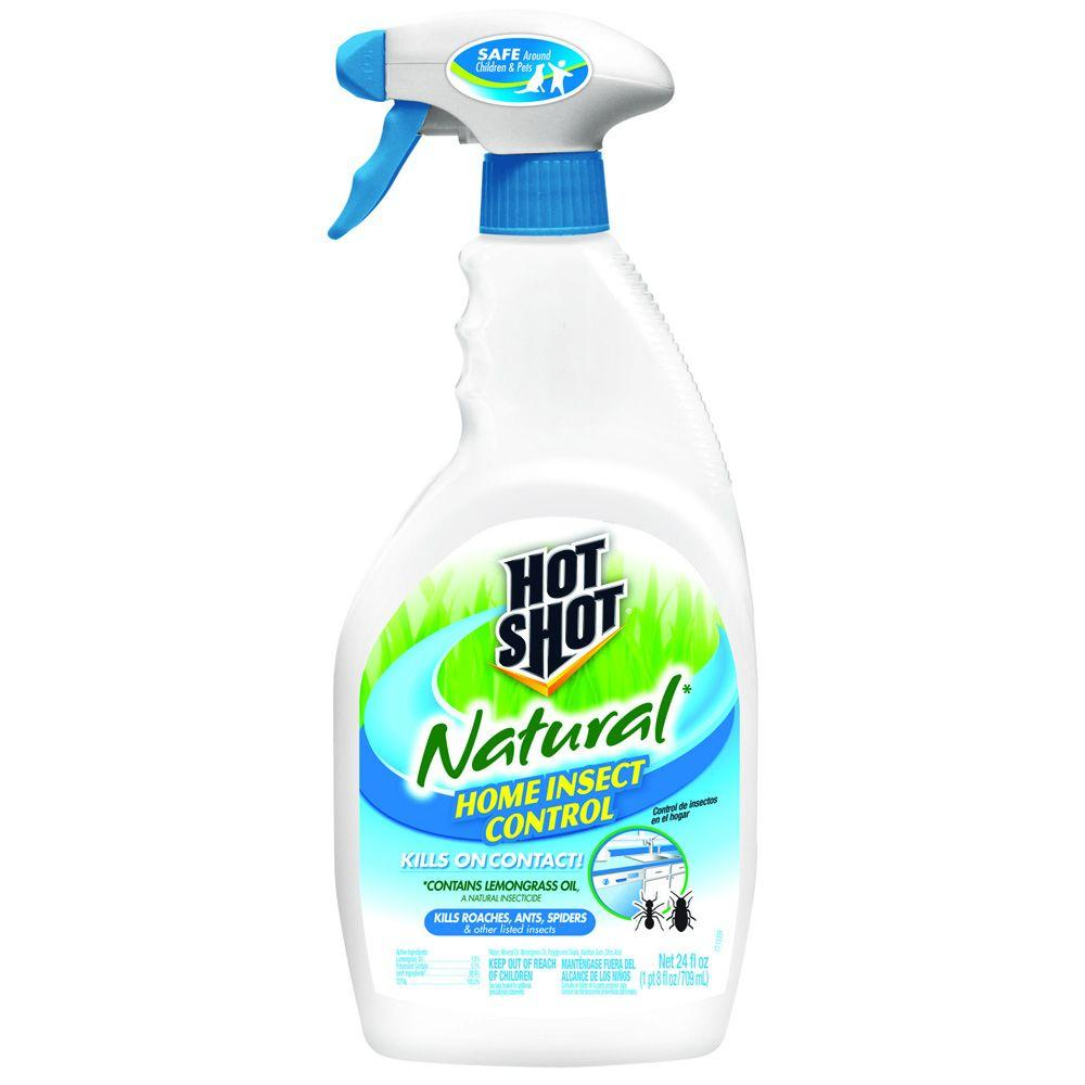 insect control safe natural insecticide hot shot 24 oz ready to use natural home 71121958464 ebay. Black Bedroom Furniture Sets. Home Design Ideas
