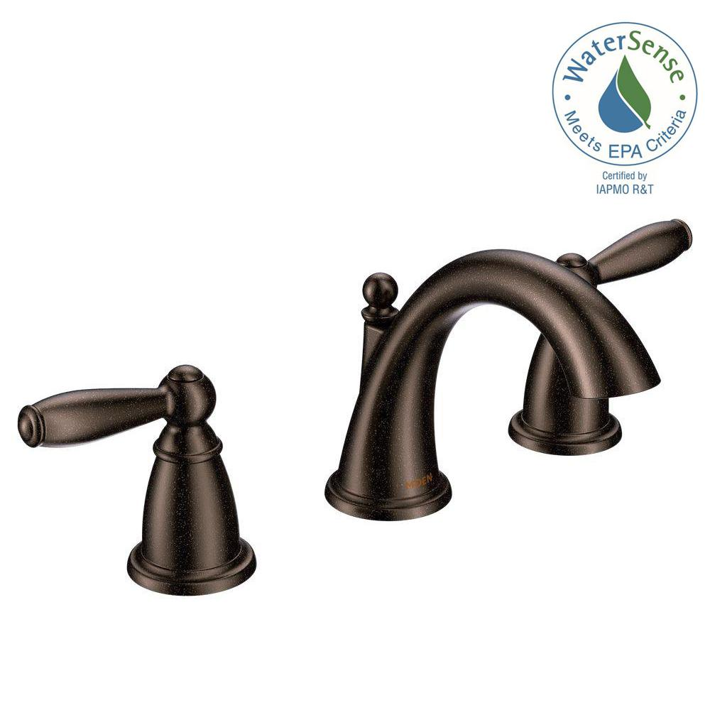 Brantford 8 In. Widespread 2 Handle High Arc Bathroom Faucet Trim Kit In. Oil  Rubbed Bronze ...