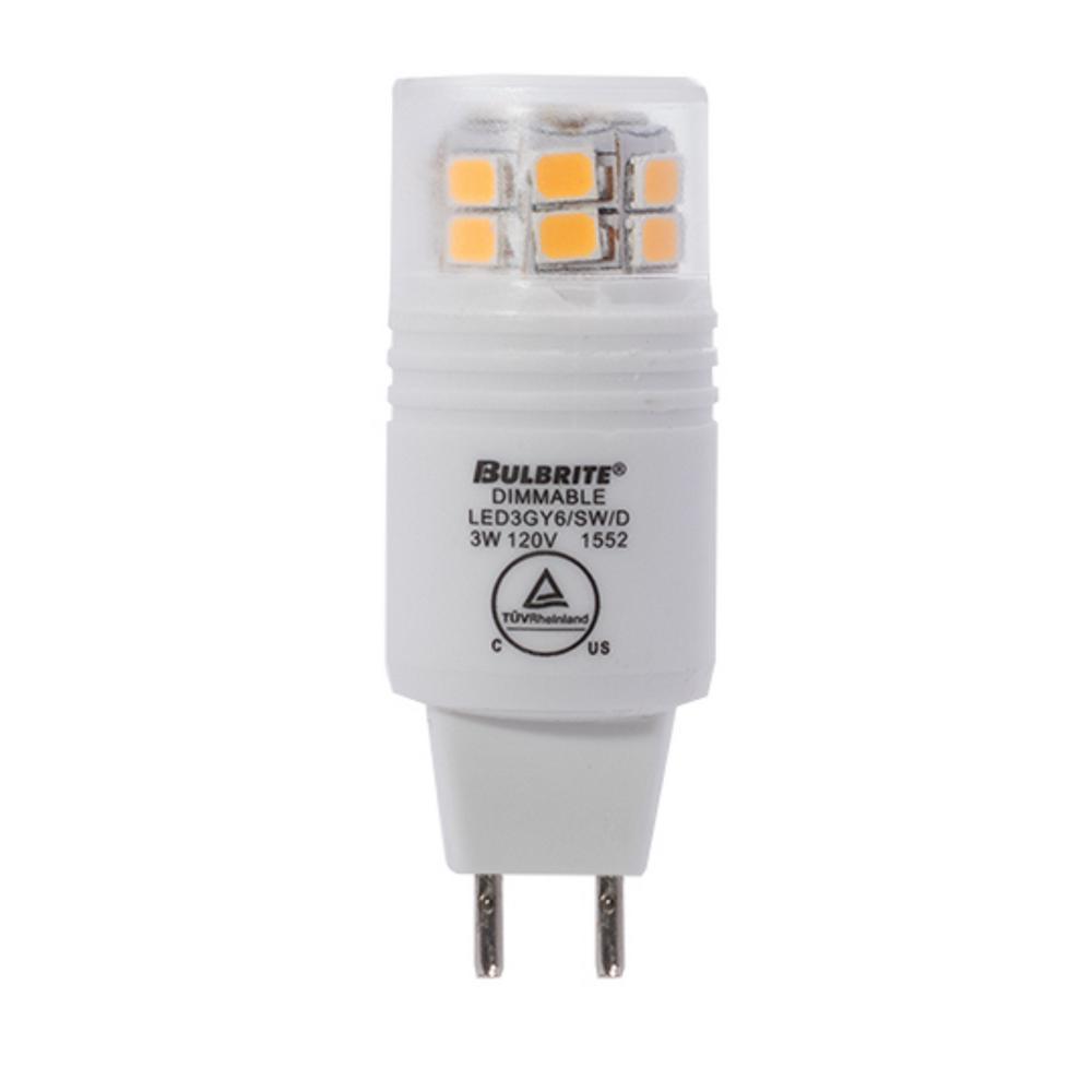 20-Watt Equivalent T4 Dimmable BI-PIN LED Light Bulb Soft White Light (4-Pack)