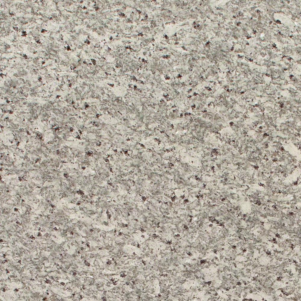 3 in. x 3 in. Granite Countertop Sample in Moon White