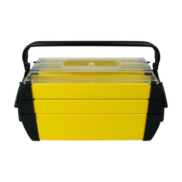 18 in. Deluxe Steel and Plastic Tool Box
