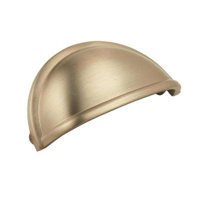 Cup Pulls 3 in. (76 mm) Center Golden Champagne Cup Pull