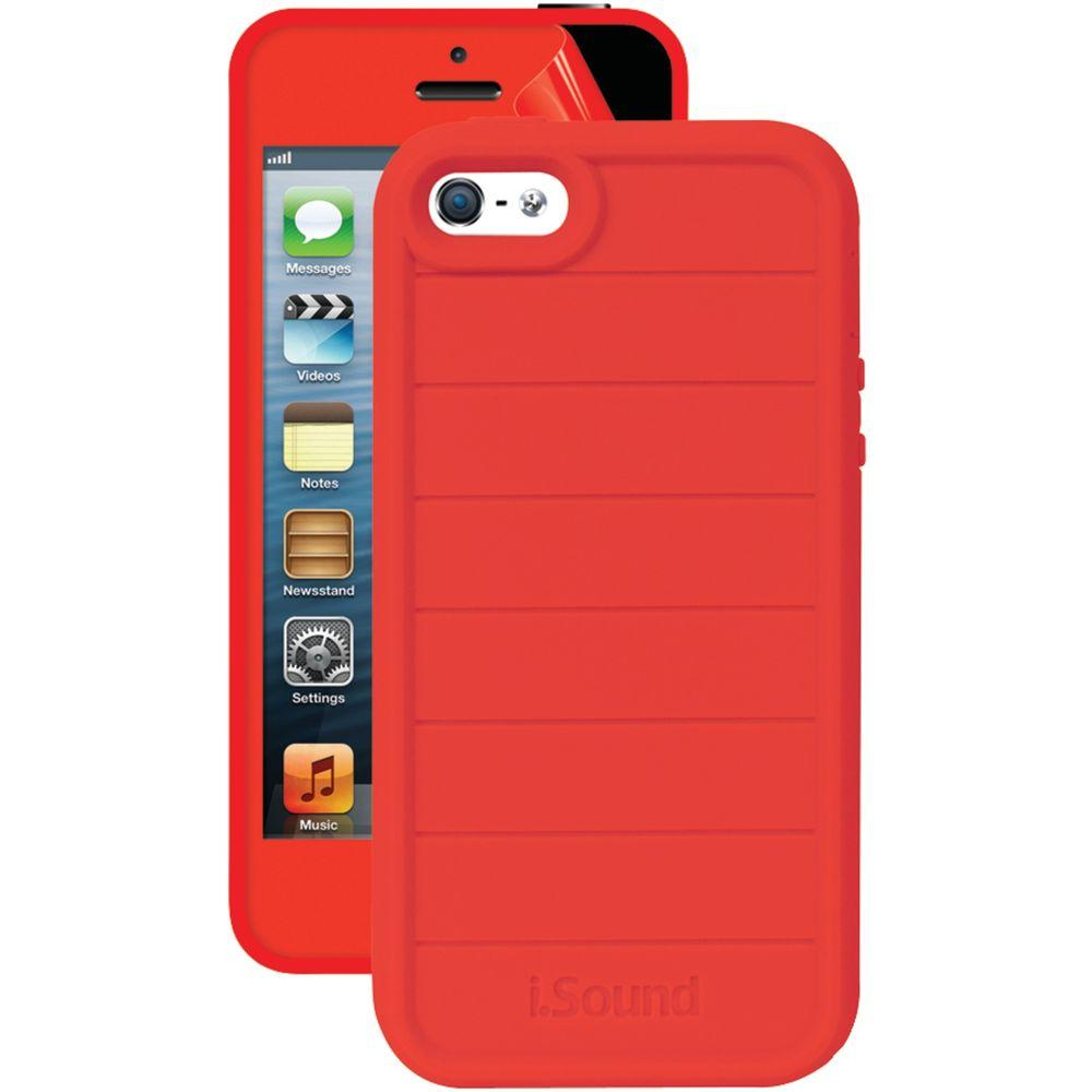 iSound 5340 iPhone 5/5S 3 in 1 Dura-Guard Case - Red